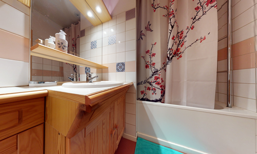 salle de bain appartement asie